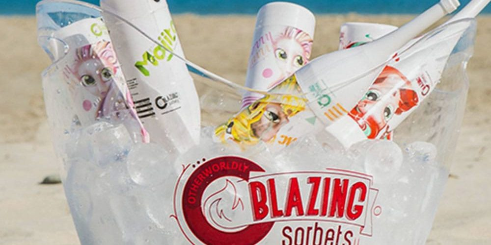 Blazing Sorbets - QDP