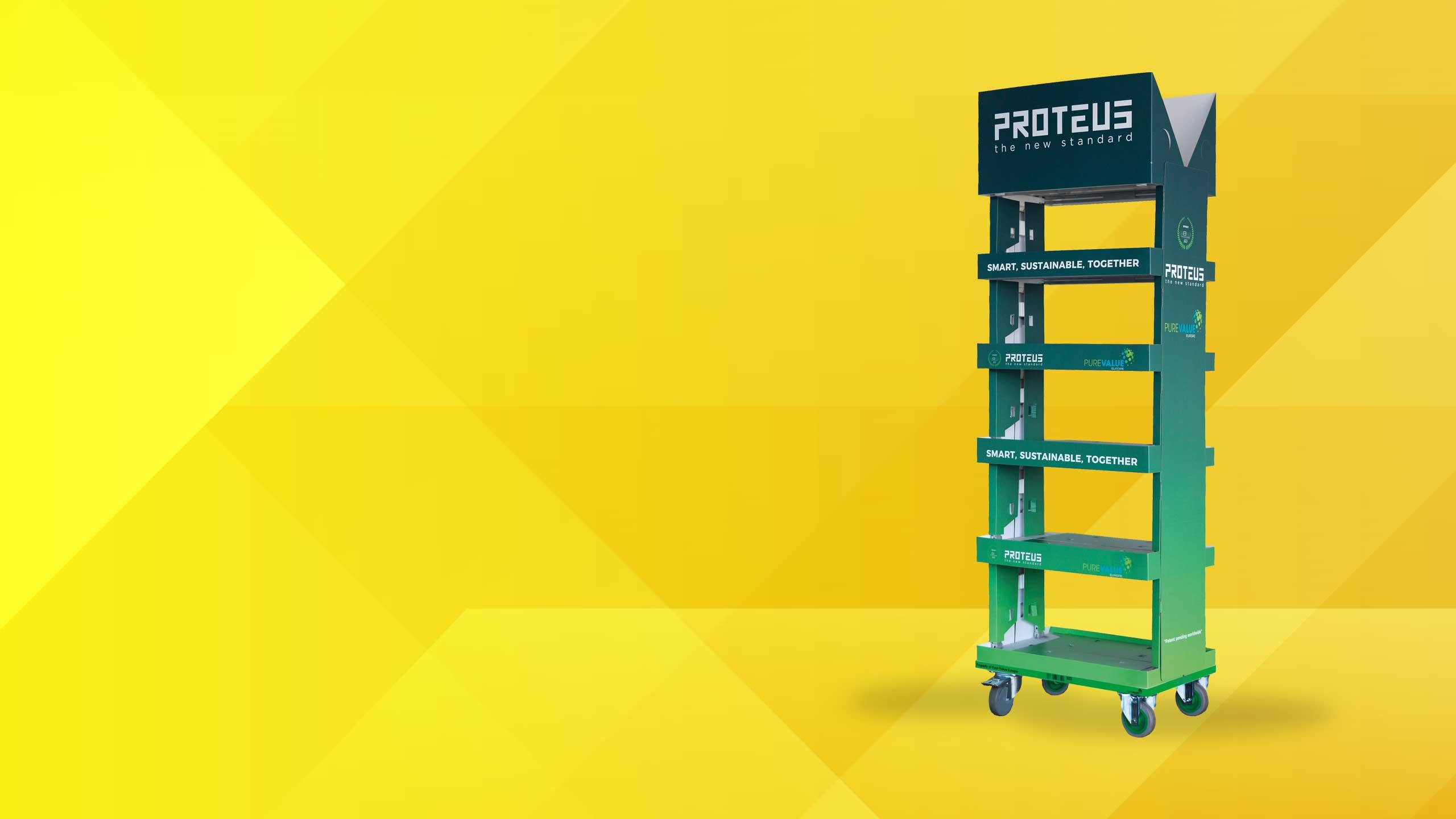 Proteus<br>De nieuwe<br>standaard in<br>displays