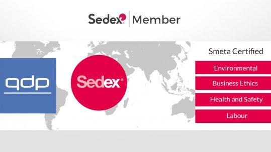 QDP nu Sedex Member